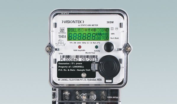 Reliable Power Meters : Visiontek sm single phase energy meter accurate