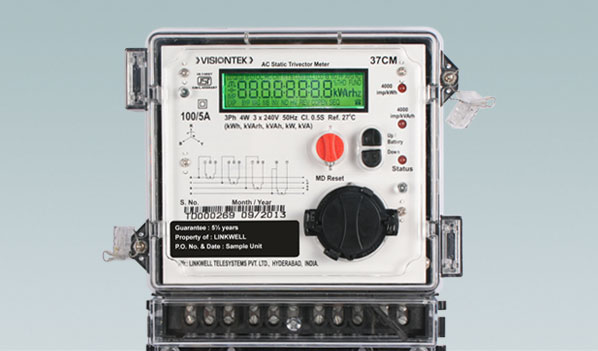 Reliable Power Meters : Visiontek cm three phase energy meter accurate