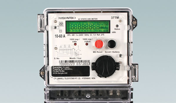 Three Phase Electricity Meter : Visiontek tm three phase energy meter accurate