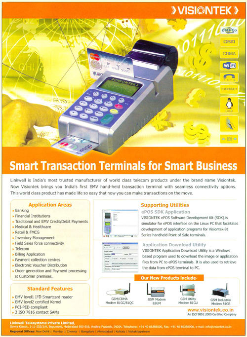 Smart Transaction Terminals for Smart Business